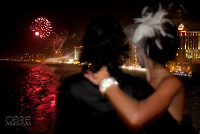 Tropicanna Fireworks - Terrace